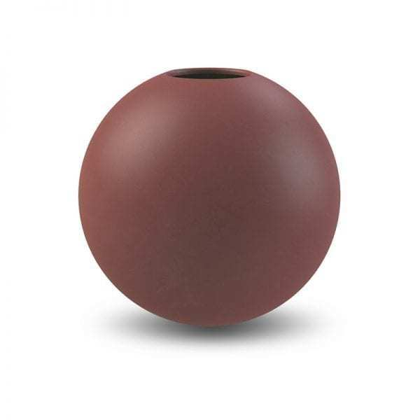 Vázy Ball vase 20cm plum