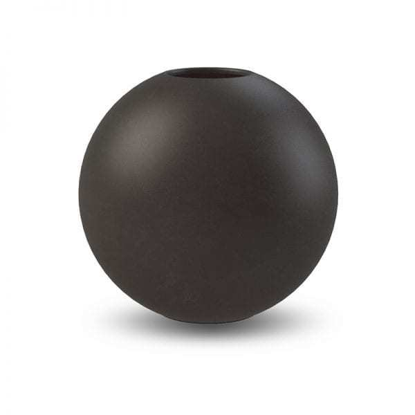 Vázy Ball vase 20cm black