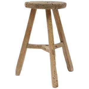 Nábytek Kulatá vintage stolička