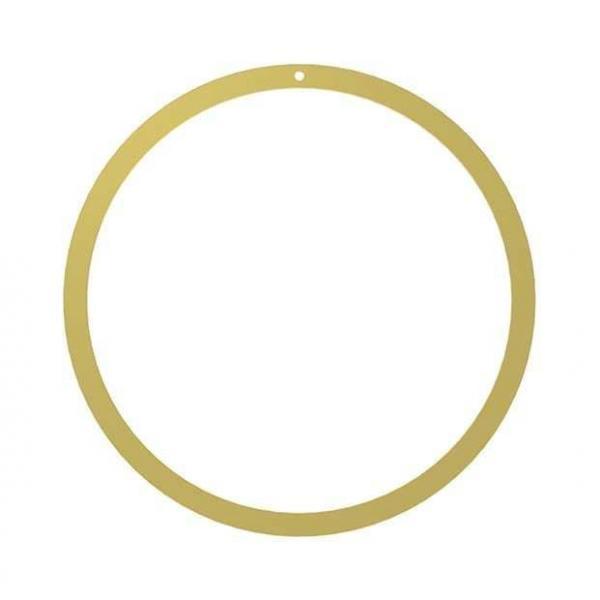 Bytové doplňky Mosazný kruh 40cm