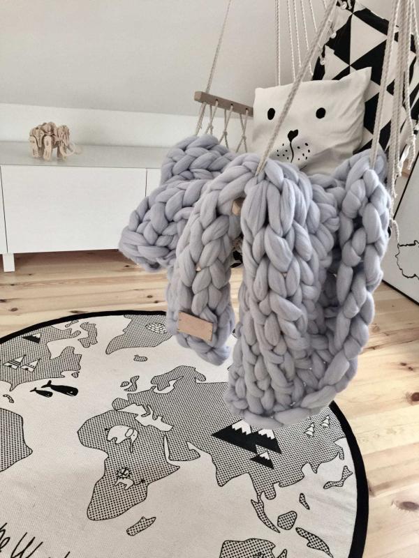Bytový textil Deka Merino Perlově šedá