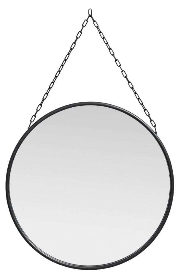 Bytové doplňky Kulaté zrcadlo na řetízku
