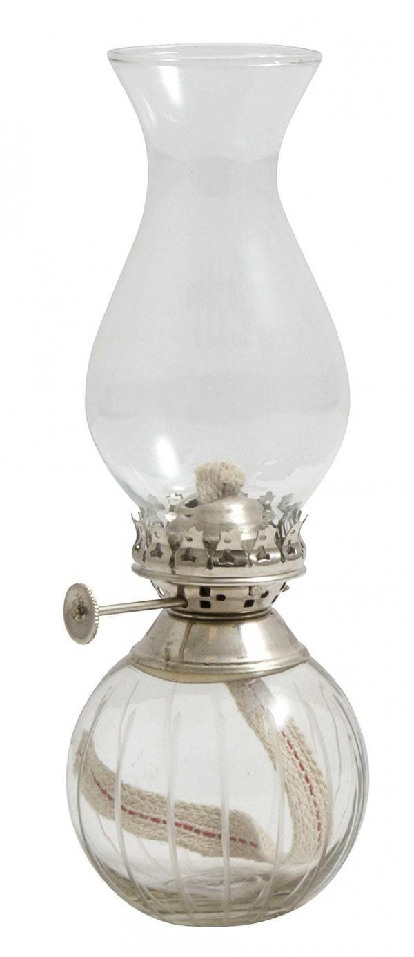 Bytové doplňky Skleněná olejová lampa