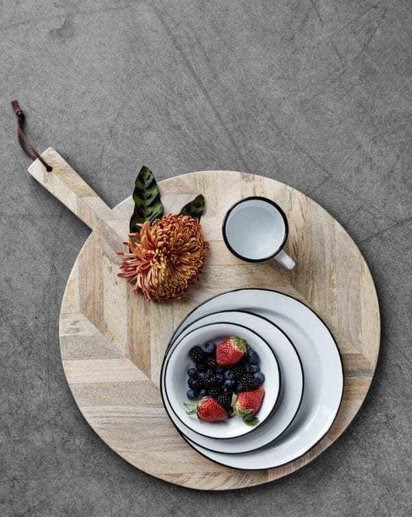 Doplňky do kuchyně Prkénko z mangového dřeva L