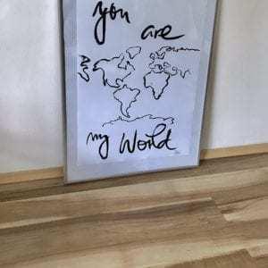Plakáty Autorský plakát WORLD byKasci
