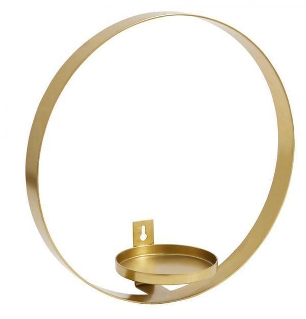 Bytové doplňky Svícen kruh G