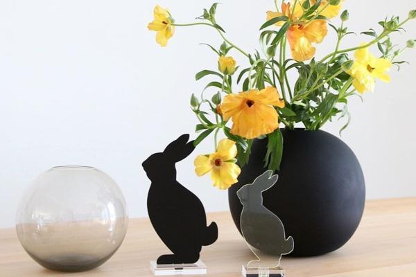 Sale Ball Vase Glass 15cm Ash