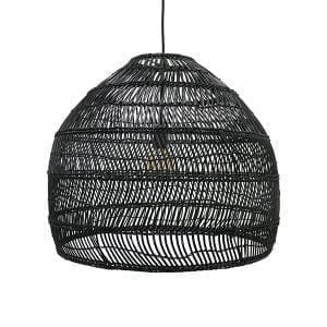 Lampy, lustry, svítidla Proutěná lampa BLACK M