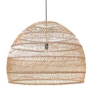 Lampy, lustry, svítidla Proutěná lampa NATURAL L