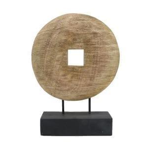 Bytové doplňky Dřevěný kruh