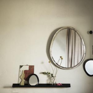 Bytové doplňky Zrcadlo Silver L