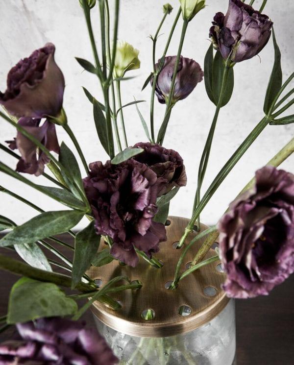 Vázy Skleněná váza BLACK L