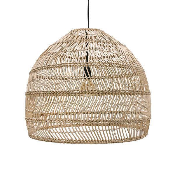 Lampy, lustry, svítidla Proutěná lampa NATURAL M