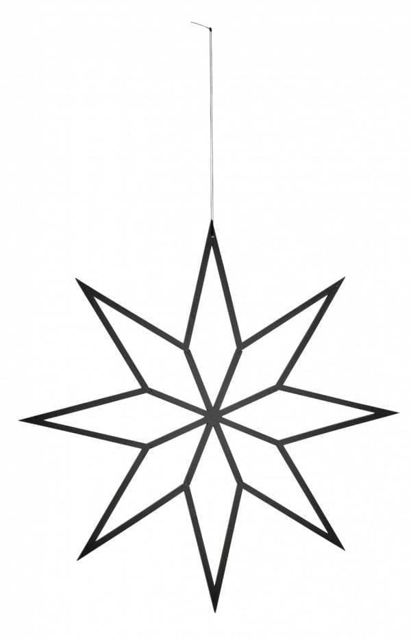 Bytové doplňky Hvězda black M