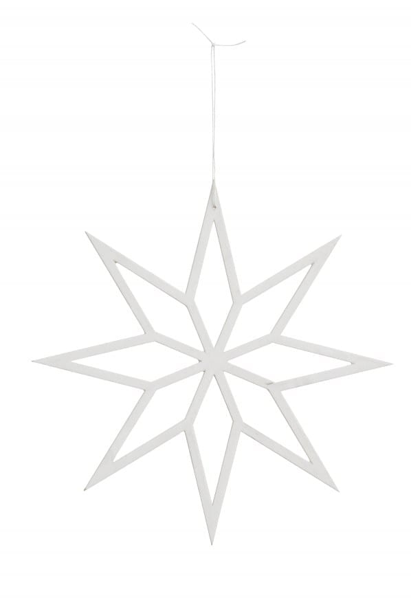 Bytové doplňky Hvězda white M