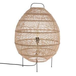 Lampy, lustry, svítidla Proutěná podlahová lampa H