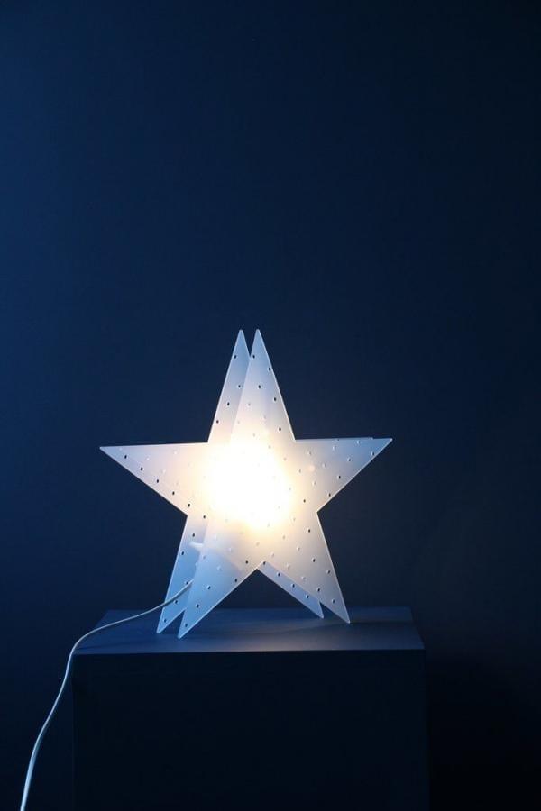Bytové doplňky Svítící hvězda COOEE Frost