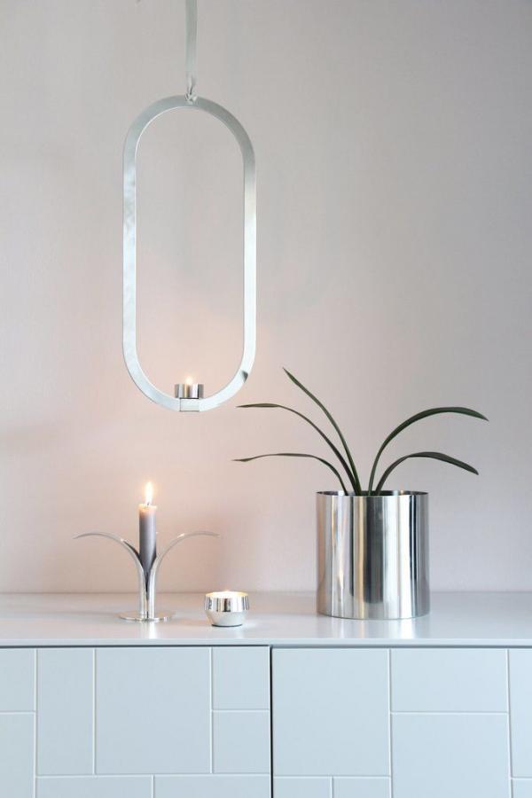 Bytové doplňky Ocelový svícen COOEE Design