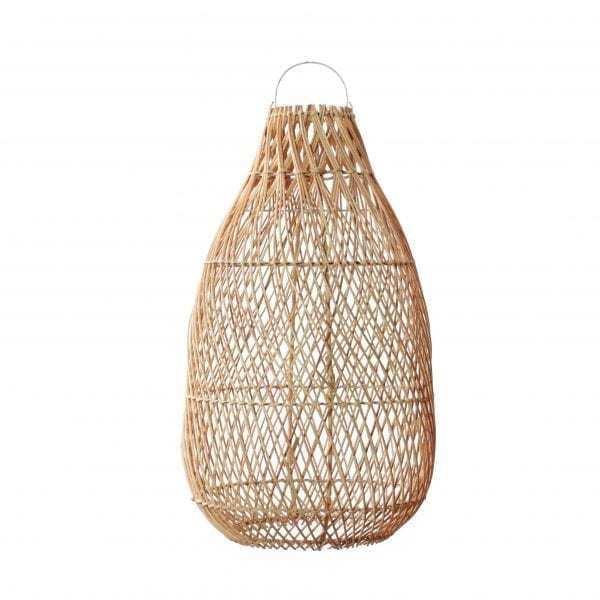 Lampy, lustry, svítidla Proutěné stínidlo Kendi Natural