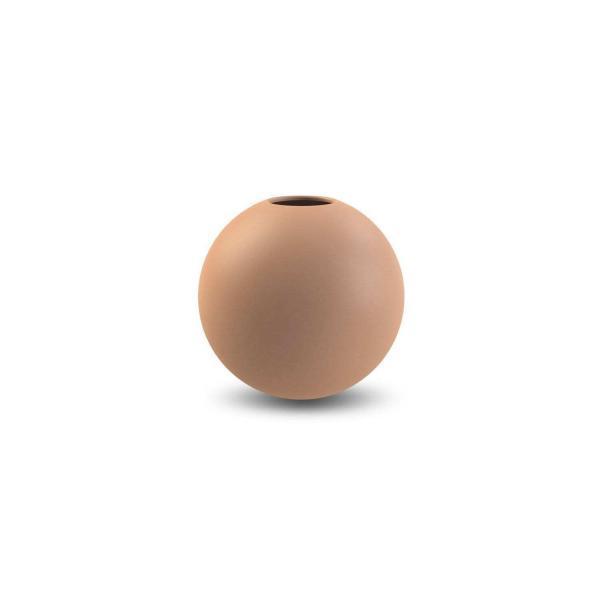 Vázy Ball vase 10cm au lait