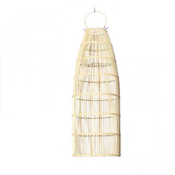 Lampy, lustry, svítidla Proutěné stínidlo Natural M