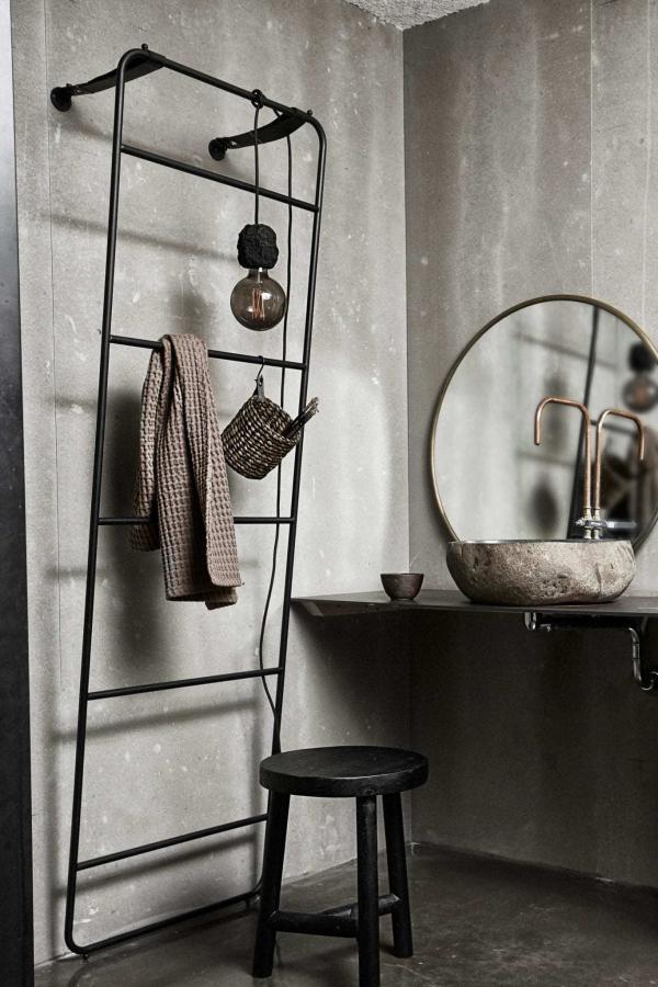 Bytové doplňky Zrcadlo ANTIQUE BRASS