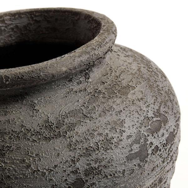 Bytové doplňky Terracottová nádoba/květník BLACK