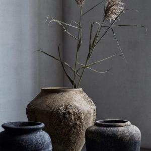 Bytové doplňky Terracottová nádoba/květník BLACK L