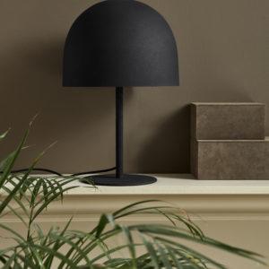 Bytové doplňky Stolní lampa BLACK