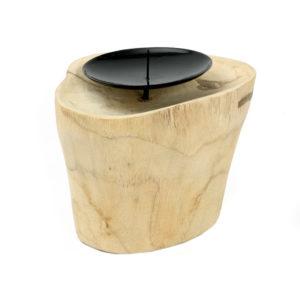 Bytové doplňky Svícen dřevo/kov