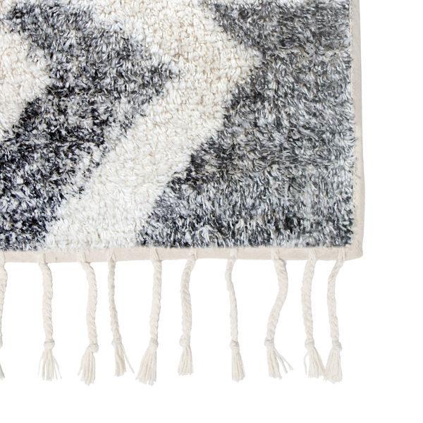 Bytový textil Bavlněný koberec ZIGZAG