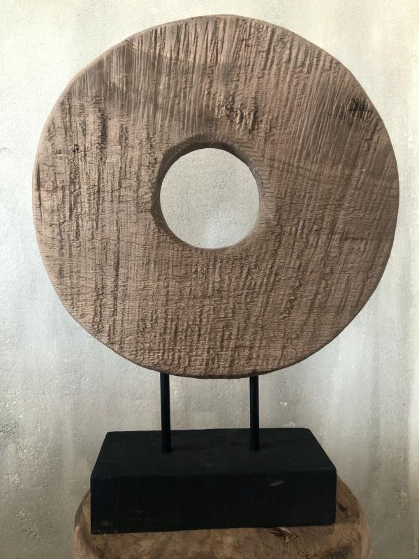 Bytové doplňky Dřevěný kruh L