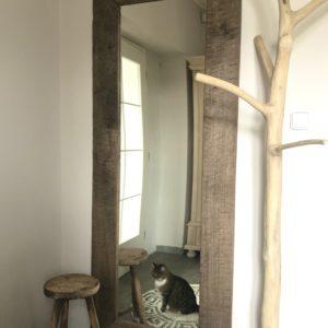 Bytové doplňky Zrcadlo RUSTIC  T 80×200