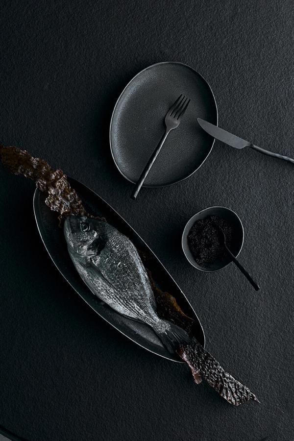 Doplňky do kuchyně Set příborů 16ks UTA BLACK