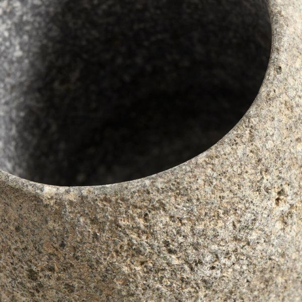 Bytové doplňky Kamenný kalíšek/svícen