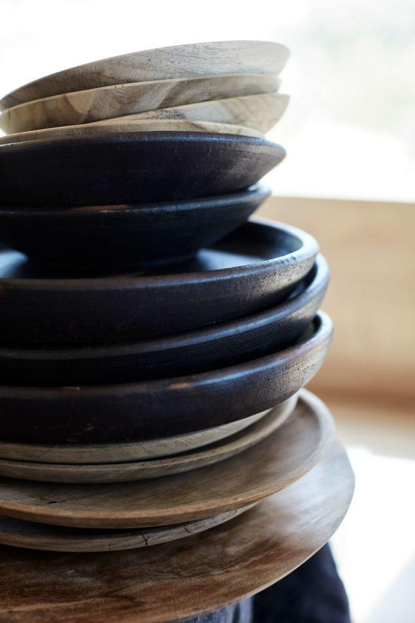 Bytové doplňky Teakový talíř 18cm