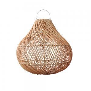 Lampy, lustry, svítidla Proutěné stínidlo BOTTLE Natural M