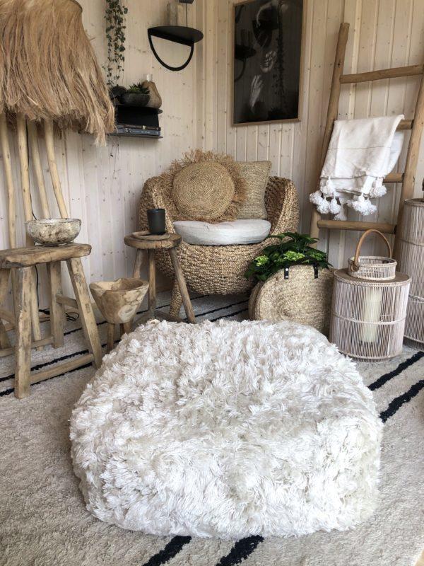 Bytový textil Podlahový puf TULUM