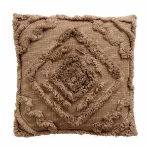 Bytový textil Povlak shaggy brown