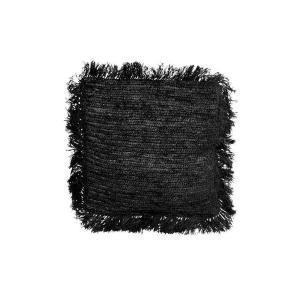 Bytové doplňky Polštář SEAGRASS M black