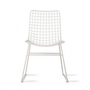 Nábytek Židle IRON White
