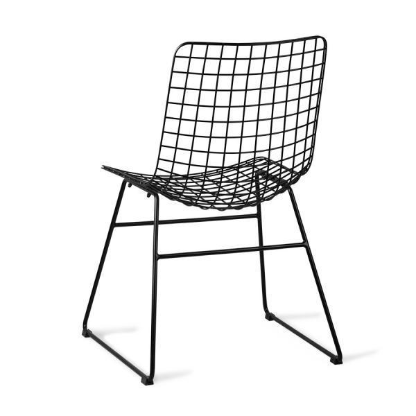 Nábytek Židle IRON Black