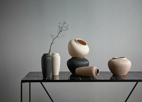 Bytové doplňky Váza CREAM