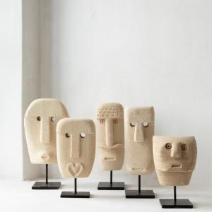 Bytové doplňky Kamenná soška W