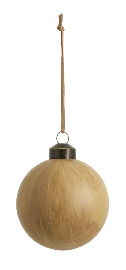 Bytové doplňky Ozdoba ball light brown