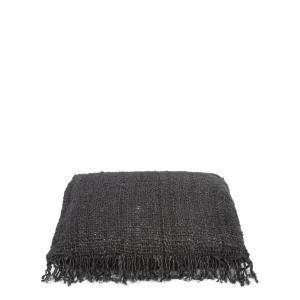 Bytové doplňky Bavlněný polštář BLACK L