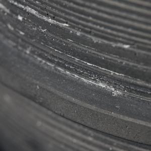 Bytové doplňky Cementový květník BLACK
