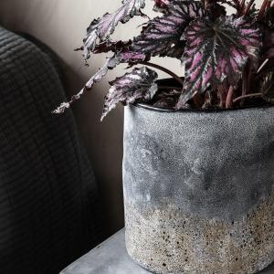 Bytové doplňky Svícen/váza GLASS ANTIQUE M
