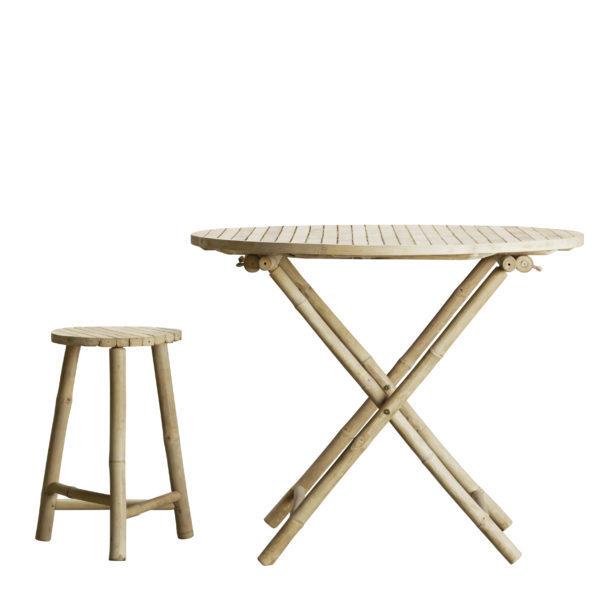 Nábytek BAMBOO stolička round