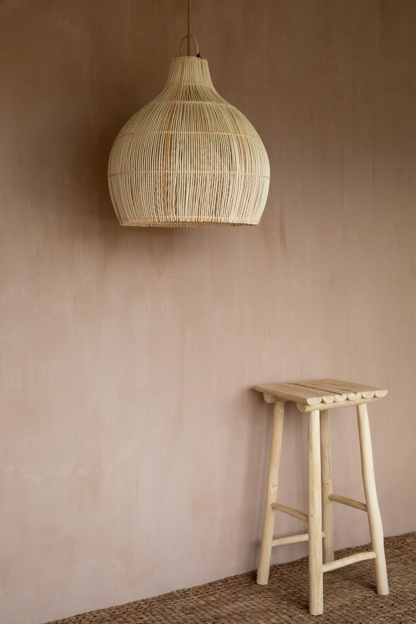 Lampy, lustry, svítidla Proutěné stínidlo simply